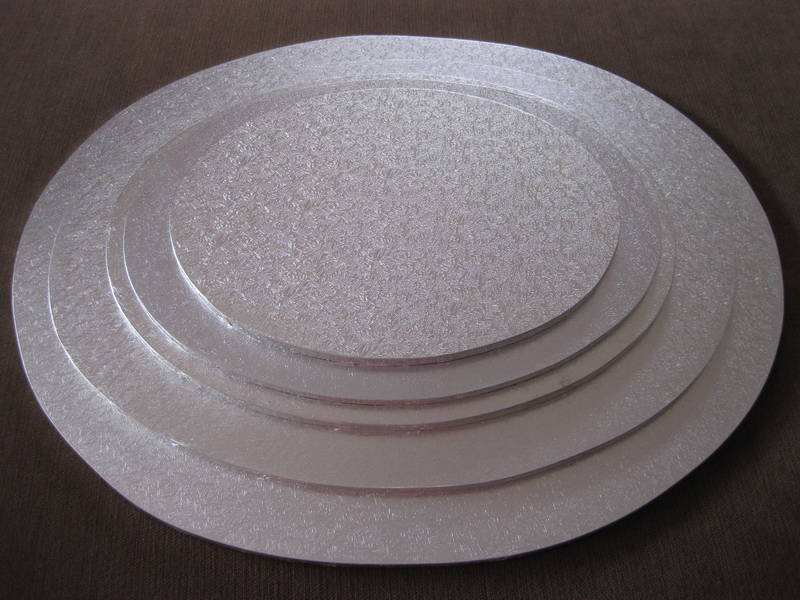 Cake Board Round Silver The Bake And Brew Shop