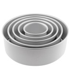 Aluminium Round Tins DEEP