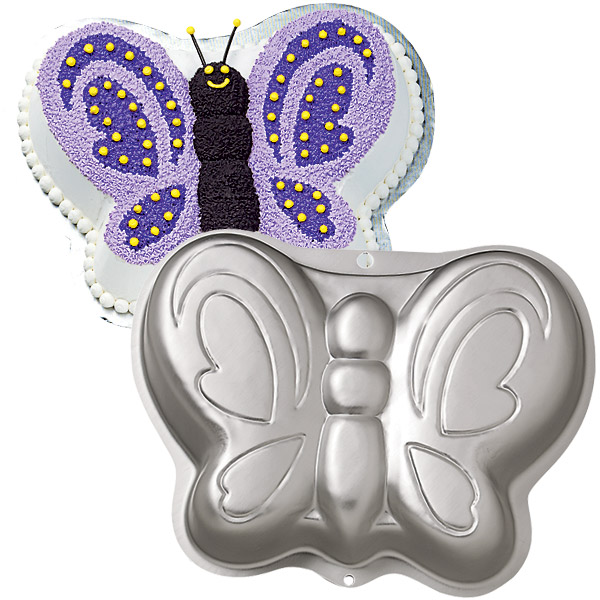 Butterfly Cake Pan Decorating Ideas : Wilton  Butterfly  Cake Tin   The Bake and Brew Shop