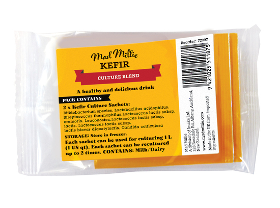 mad millie kefir instructions