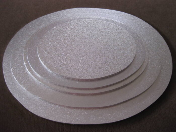 Cake Board - Round Silver