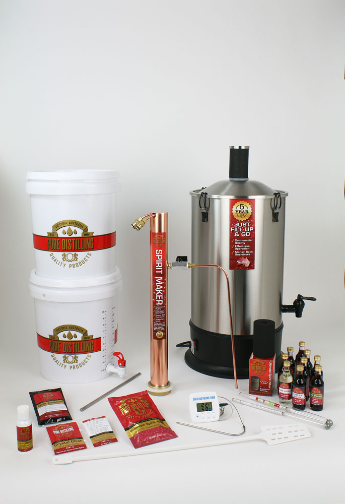Home Water Distilling Supplies ~ Pure distilling ultimate home spirit maker package the